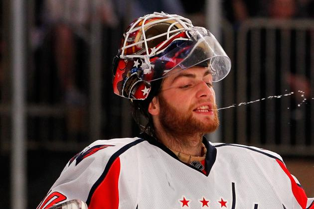 Capitals' Coach Doesn't Fault Holtby for 6-3 Loss