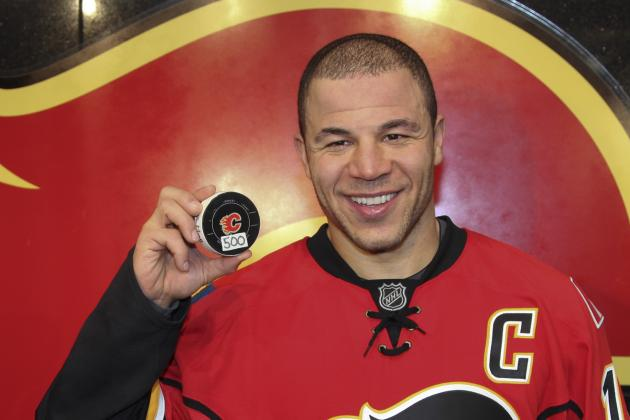 Flames' Iginla Hopes to Start Strong, Playoffs