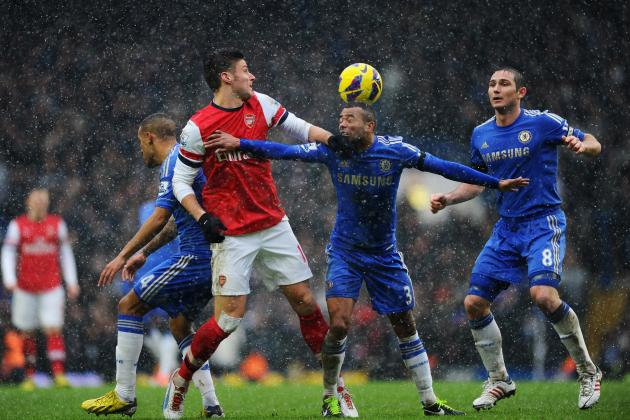 Chelsea Hold on Against Spirited Arsenal Fight-Back to Triumph 2-1 in EPL