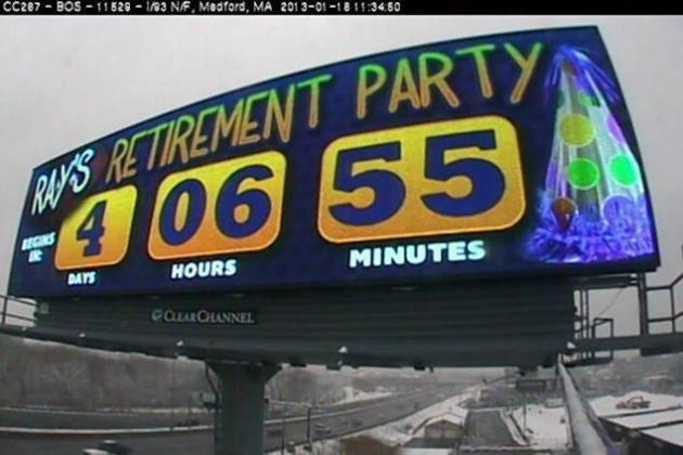 Ravens vs Patriots: Massachusetts Billboard Counts Down to Ray Lewis' Retirement