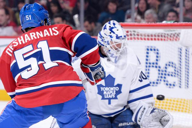 Rookie Scrivens Delivers in Maple Leafs' Victory over Canadiens