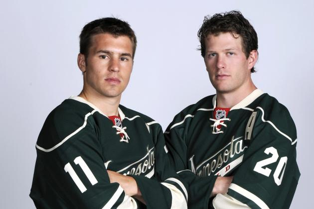 Parise, Suter Both Key in Wild Debuts