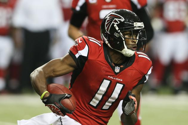 Falcons Receivers Present Big Challenge