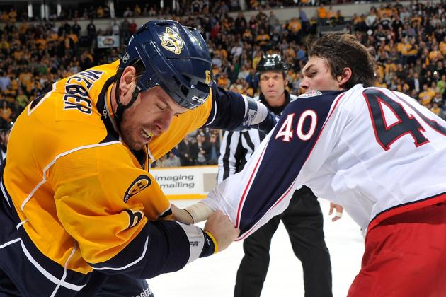 Nashville Predators' Shea Weber's Fight Hurts Team