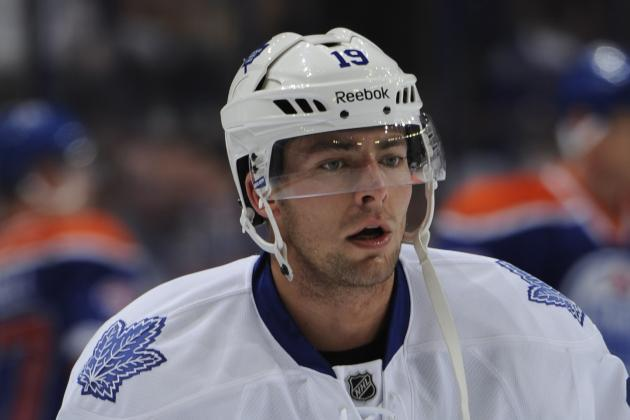 Maple Leafs Extend Joffrey Lupul for 5 Years