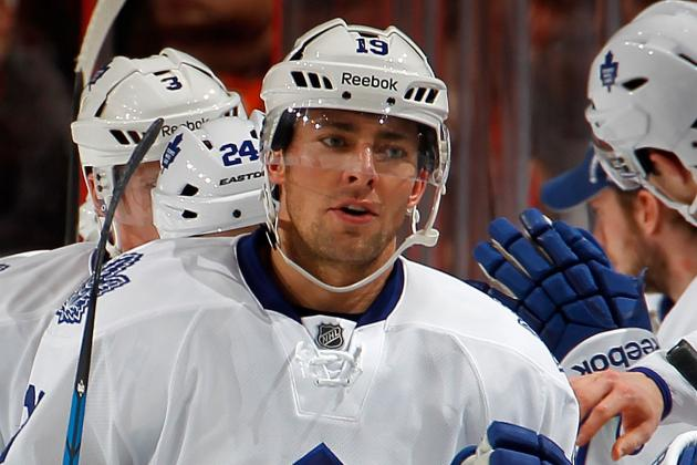 Maple Leafs Sign Lupul to 5-Year Contract Extension