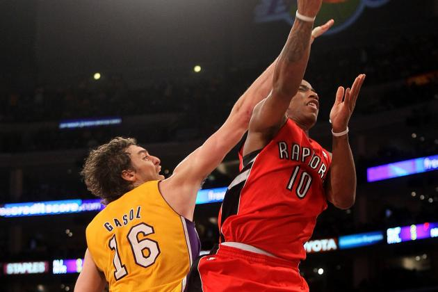 NBA Gamecast: Lakers vs. Raptors