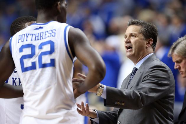 Kentucky Basketball: Rocky Season Shows Flaw in Coach Cal's Recruiting Tactics