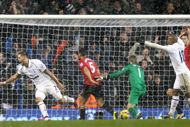 Tottenham 1-1 Man Utd: Dempsey Delivers to Snatch Late Spurs Leveller