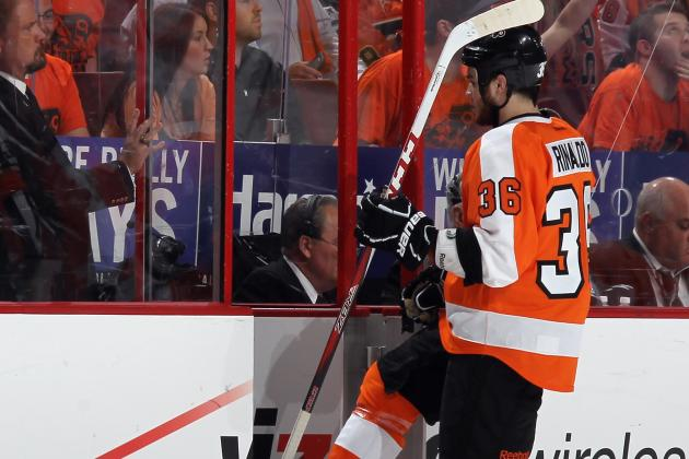Zac Rinaldo Leaves Game vs. Sabres with Lower-Body Injury