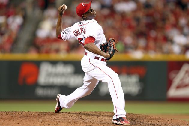 Creative Ways the Reds Could Limit Aroldis Chapman's Early-Season Innings