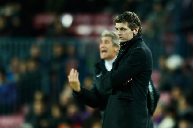 Tito Vilanova Now Faces His First True Test as Barcelona's Manager