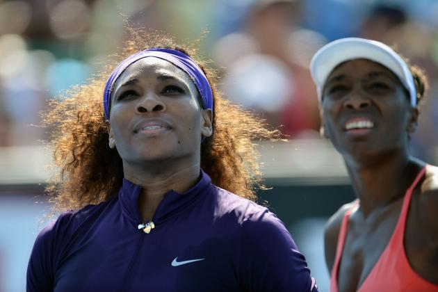 Williams Sisters Do Double Duty in Melbourne