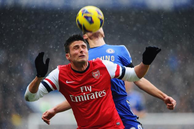 Chelsea vs. Arsenal: Why Olivier Giroud Is Not Yet Good Enough for Arsenal
