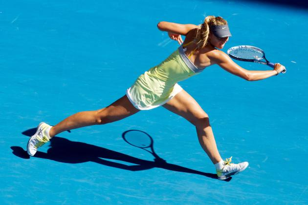 Sharapova Continues March Through Australian Open