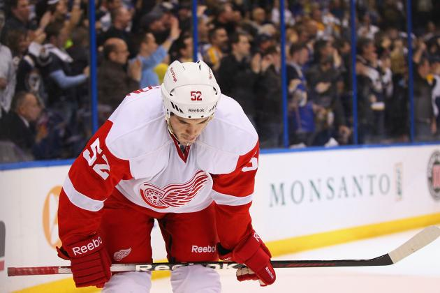 Detroit Red Wings Season Opener Proves There's Nowhere to Go but Up