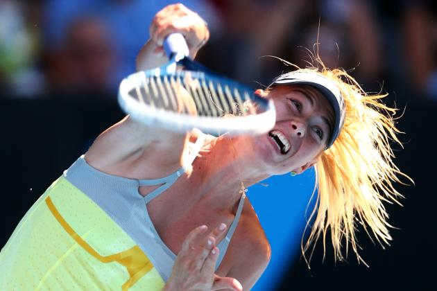 Maria Sharapova Sets Record En Route to Australian Open Quarter-Finals