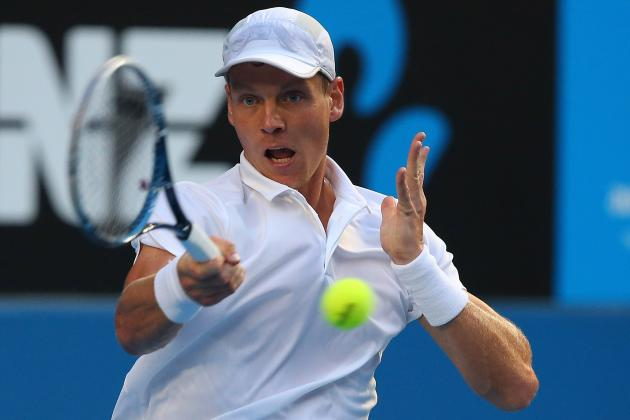 Tomas Berdych Beats Kevin Anderson to Reach Australian Open Quarter-Finals