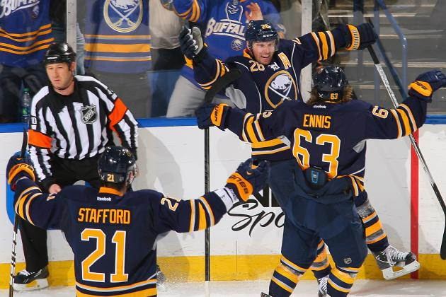 Vanek Scores Twice, Paces Sabres Past Flyers