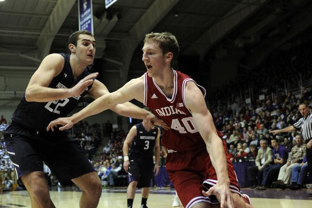 No. 2 Indiana 67, Northwestern 59