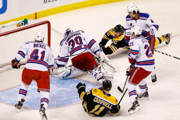New York Rangers Rusty, Henrik Lundqvist Shines in 2013 Debut