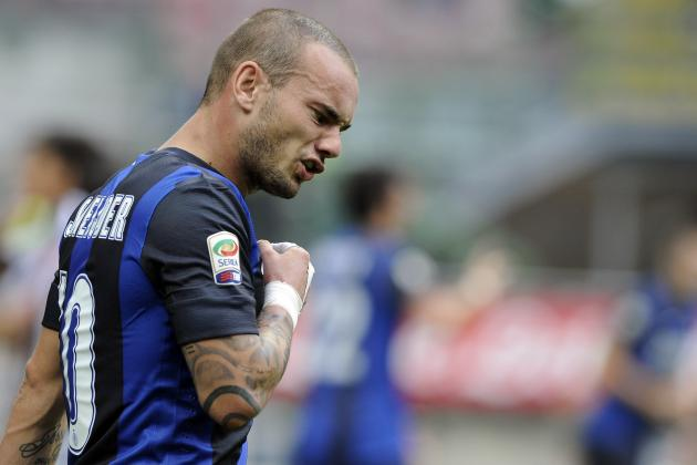 Inter Milan Sell Midfielder Wesley Sneijder to Galatasaray