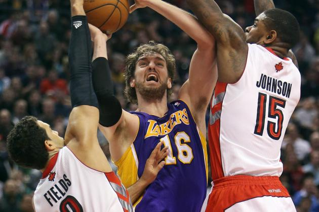 Raptors Roll as Lakers Lose 5th Straight on Road