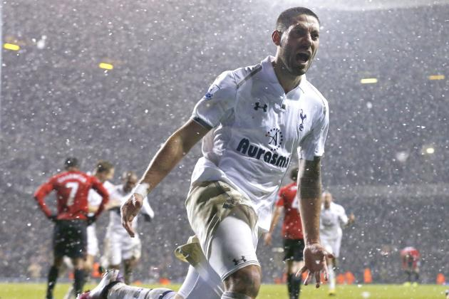 Clint Dempsey, Tottenham Peg Back Manchester United as EPL Title Race Tightens