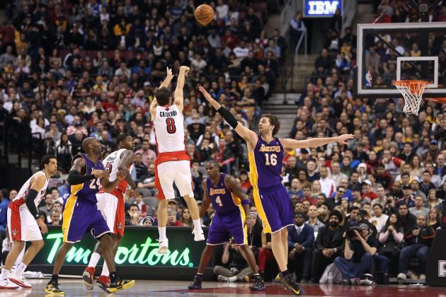 Raptors Use Balanced Effort to Down Lakers at ACC
