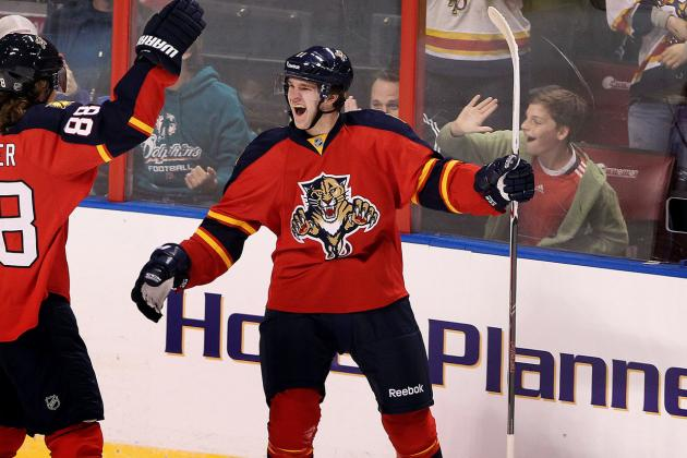 Kovalev and Huberdeau Already Are Meshing with Panthers