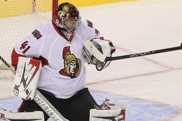 Senators Stick with Anderson Against Florida Panthers