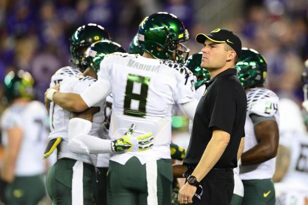 Chip Kelly to NFL: Oregon Coach Mark Helfrich to Continue Winning Culture
