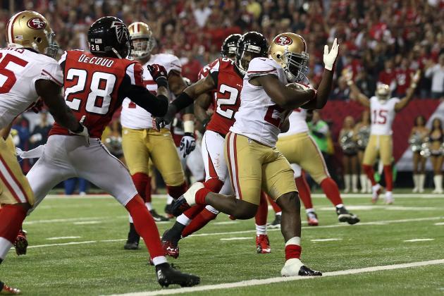 Frank Gore's Dirty Bird a Huge Diss to Falcons Fans