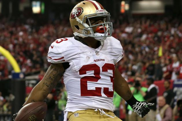 LaMichael James Scores First NFL Touchdown in NFC Championship Game