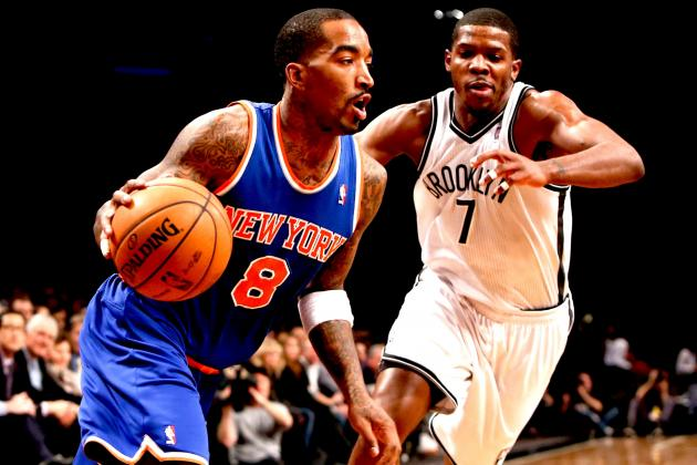 J.R. Smith on Knicks-Nets Rivalry: 'We Don't Like Them, They Don't Like Us'