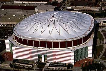 Fan Fight Outside Georgia Dome Leads to Stabbing