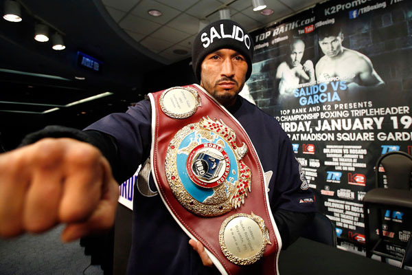 Salido: Mexicans Don't Quit, My Nose Is Broken