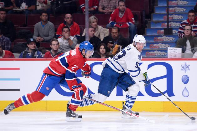 Leafs Newcomers Impress Phaneuf