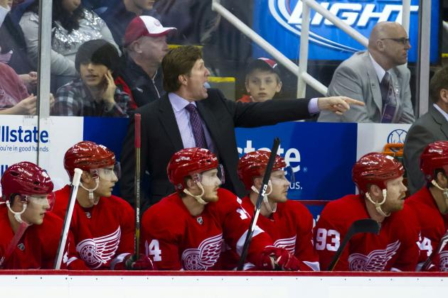 Red Wings Realize They Must Compete Much Harder
