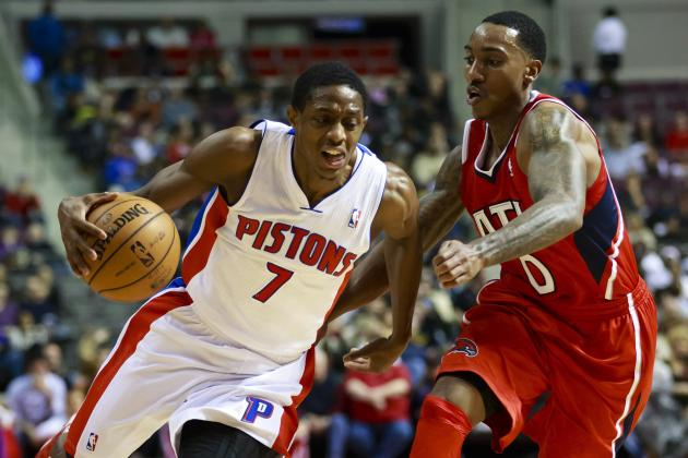 Watch: Brandon Knight Drives Down the Lane for Powerful Finish