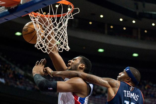 Watch: Andre Drummond Throws Down Big Alley-Oop