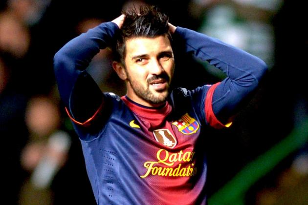Barcelona: What Does the Future Hold for David Villa?