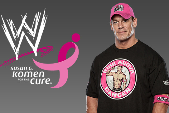 WWE: Looking Back at the 2012 Susan G. Komen for the Cure Partnership