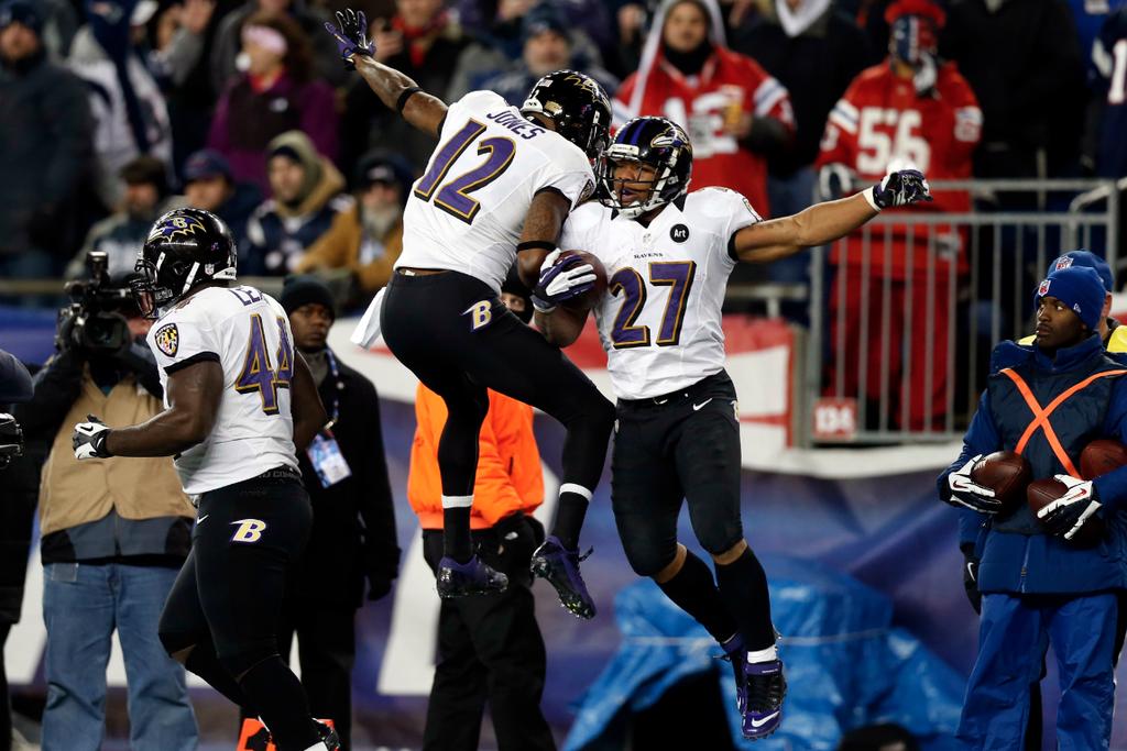Ravens vs. Patriots Live: AFC Conference Championship ...