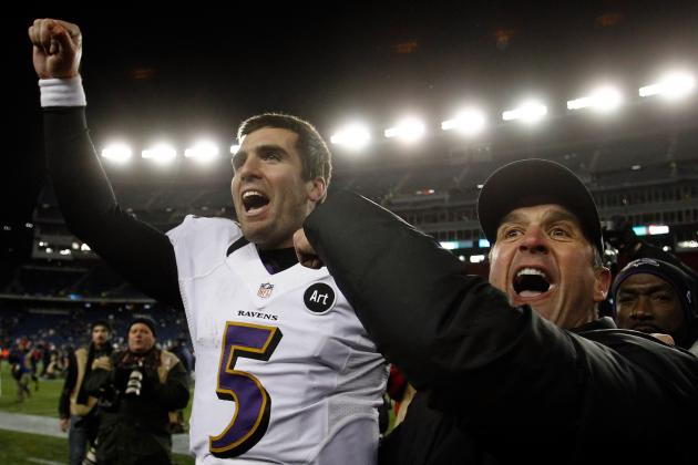 Ravens vs. Patriots: Strong 2nd Half for Joe Flacco Sends Ravens to Super Bowl
