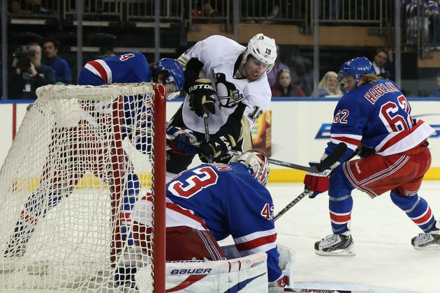 NY Rangers Lose in Home Opener