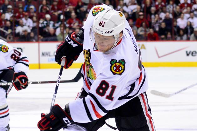 NHL Gamecast: Blackhawks vs. Coyotes