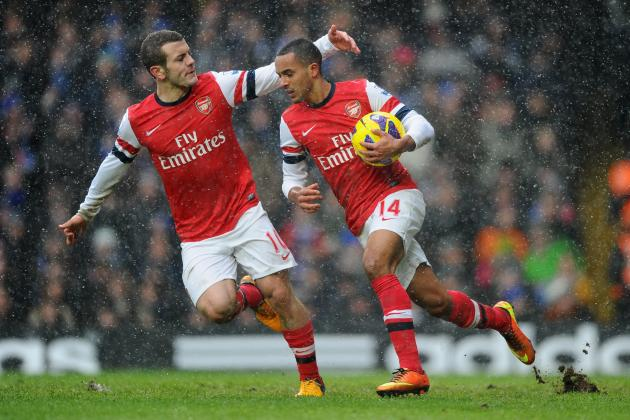 Arsenal FC: Player Ratings from the Gunners' 2-1 Loss at Chelsea