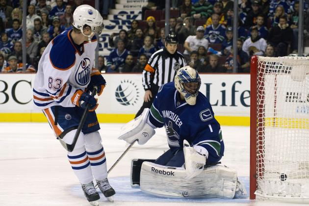 Canucks slow off the mark, lose in shootout to Oilers