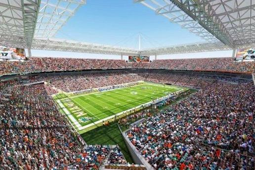 Miami Dolphins: Sun Life Stadium Renovations Nothing Like Marlins Park Deal